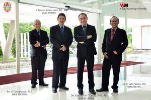 Ki-ka: Djoko Wirjawan, A. Rulianto Utomo, Kuncoro Foe, dan Harto Pramono