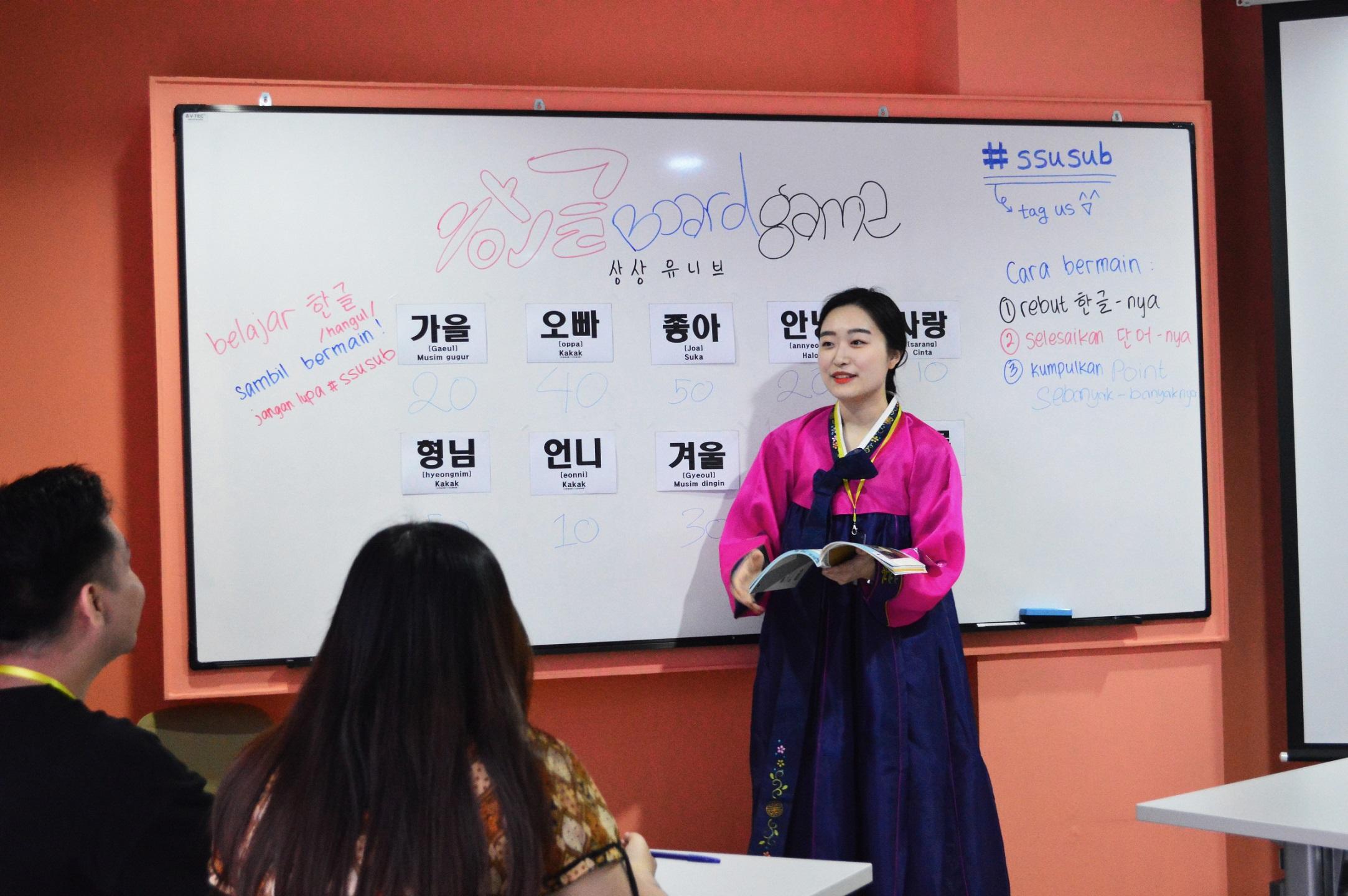 Belajar Seru Bahasa Korea