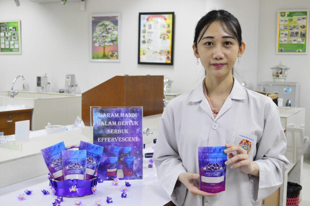 Merlyn Xumara, inovator garam mandi Efsalt berbentuk Effevescent dengan wangi Lavender