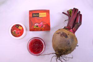 Produk Sunscreen Gel dari umbi bit merah bernama BeetaBeauty