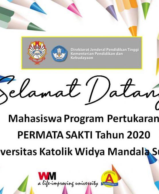 UKWMS Sambut 33 Mahasiswa Program PERMATA SAKTI