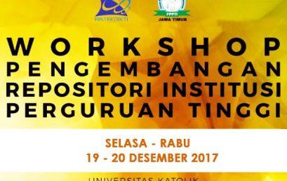 Workshop Pengembangan Repositori Institusi Perguruan Tinggi