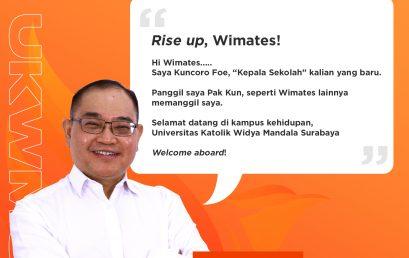 Selamat Bergabung, Wimates!