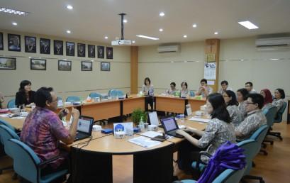 Kedatangan Unika Parahyangan Bandung ke Fakultas Bisnis