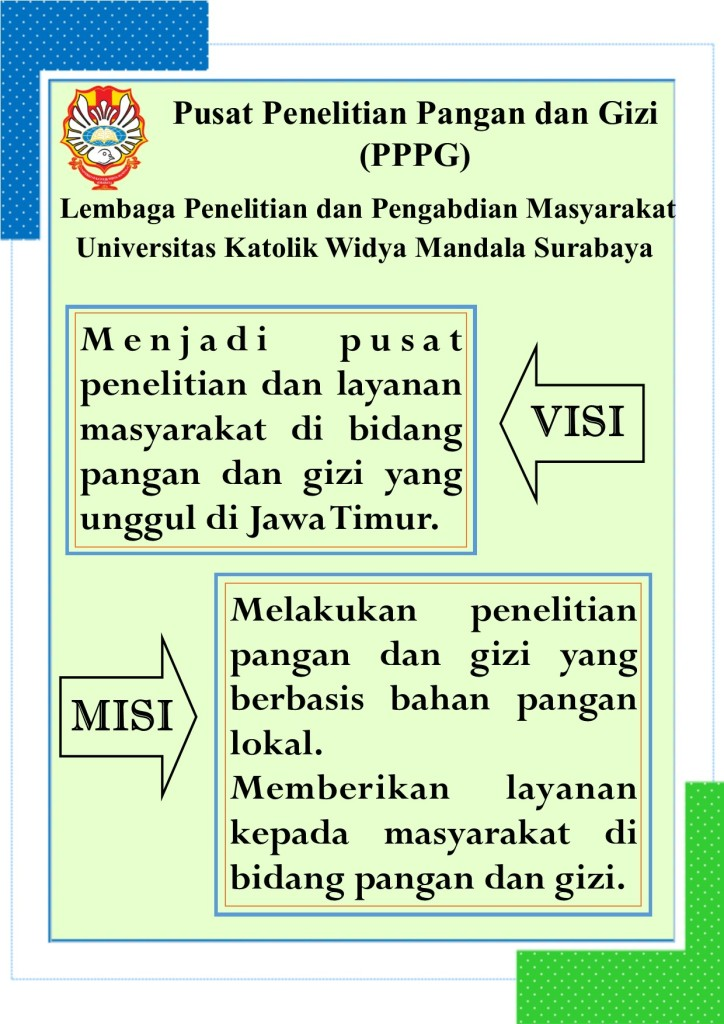 Poster visi misi PPPG