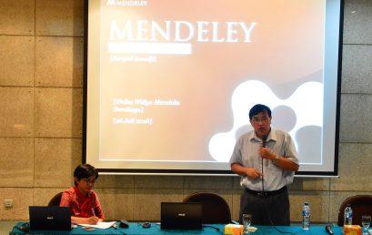Tingkatkan Mutu Jurnal, Perpustakaan Gelar Pelatihan Penulisan Jurnal International