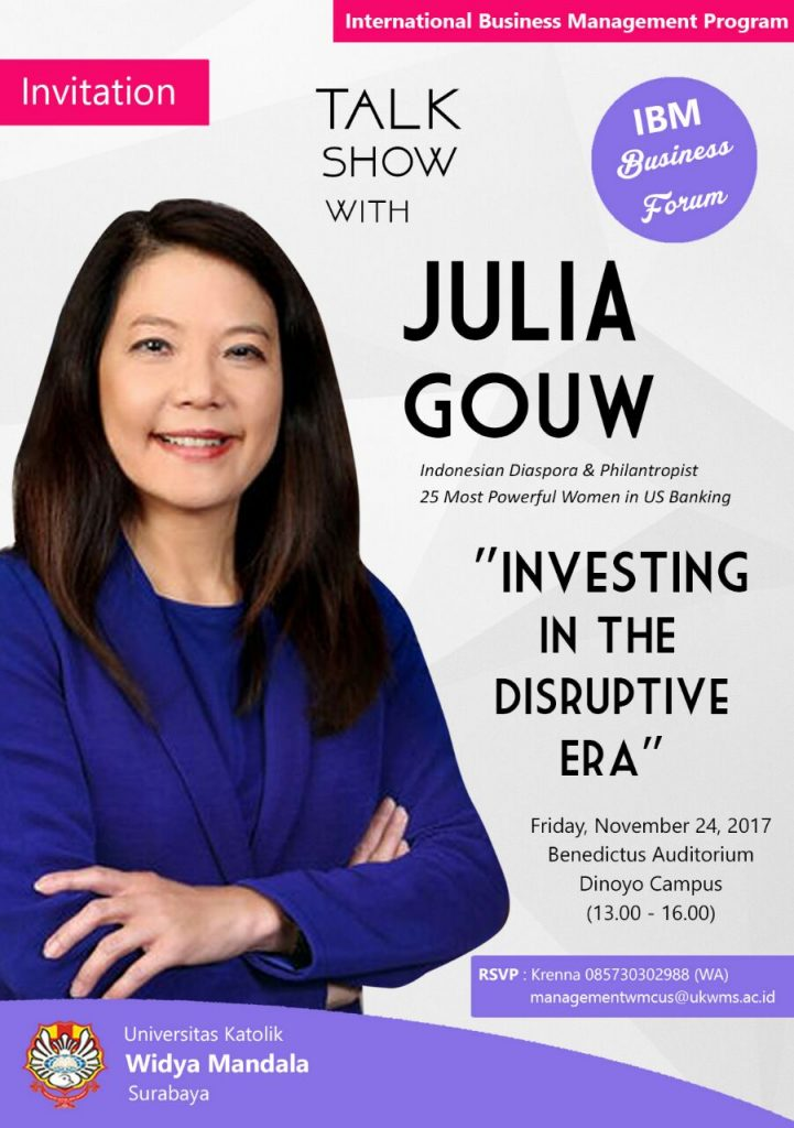 Talk Show with Julia Gouw at IBM WMCUS