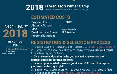 Taiwan Tech Winter Program