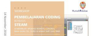 Banner Website Workshop Pembelajaran Berbasis STEAM_Fisika