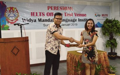 WMLI Resmikan IELTS Off-site Test Venue
